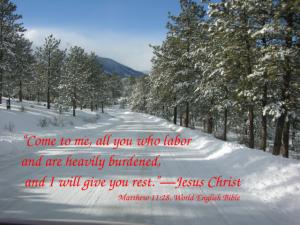 Matthew 11:28 (WEB)